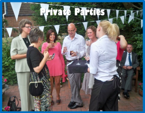 Mobile bar hire for private parties