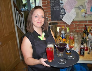 Smart and friendly mobile hire bar staff